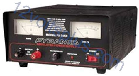 32 Volt Dc Power Supply by Ps36kx Pyramid 32 Adjustable 12 Volt Power Supply 12