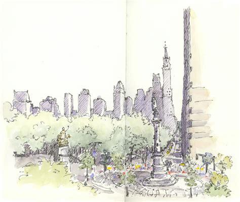 sketchbook new york new york sketchbook 2007 part two sketching and