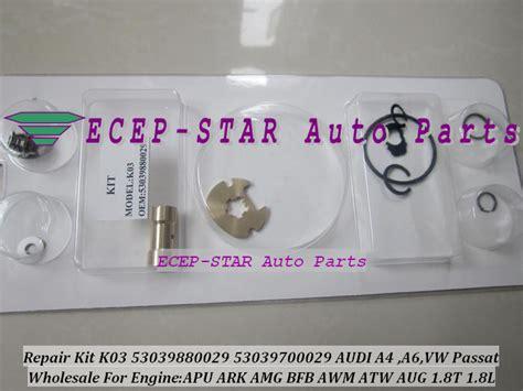 Repair Auto Kit 10 Pcs Ark 10 Wipro Alat Ketok Magic turbo repair kit rebuild k03 29 53039880029 53039700029 058145703j 058145703n for audi a4 a6 vw