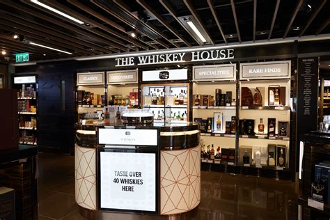 whiskey house dfs unveils extensive range with the whiskey house launch