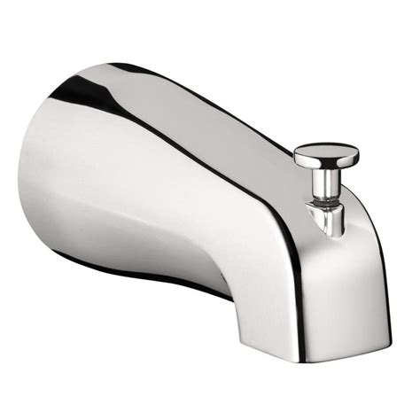 bathtub faucet spout danco tub spout back diverter 80765x the home depot