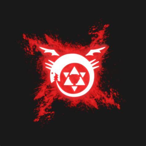 Kaos Fullmetal Alchemist Logo 1 fullmetal alchemist homunculus sign homunculus t
