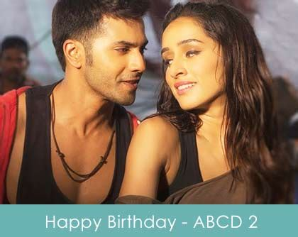 tattoo lyrics abcd 2 happy birthday lyrics abcd 2 2015