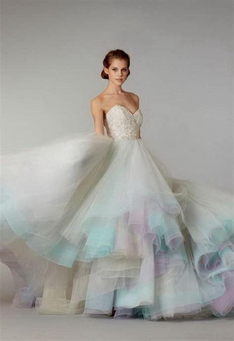 ombre wedding dresses orange ombre wedding dress naf dresses