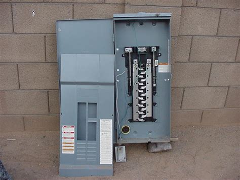 Outdoor Electrical Panel | square d 200 outdoor electrical panel used ih8mud