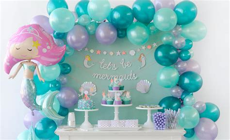 Little Mermaid Balloon Decorations » Home Design 2017