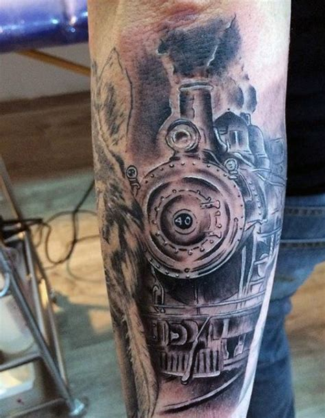 street sign tattoo designs 70 tattoos for masculine railroad designs