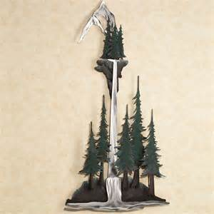 Metal Wall Decor And Sculptures by Woodland Waterfall Metal Wall Sculpture