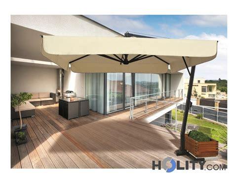 ombrelloni da giardino a braccio ombrellone a braccio in alluminio verniciato h36006