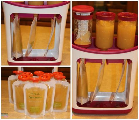 Pupu Home Baby Food Maker infantino fresh squeezed baby system lets you make your