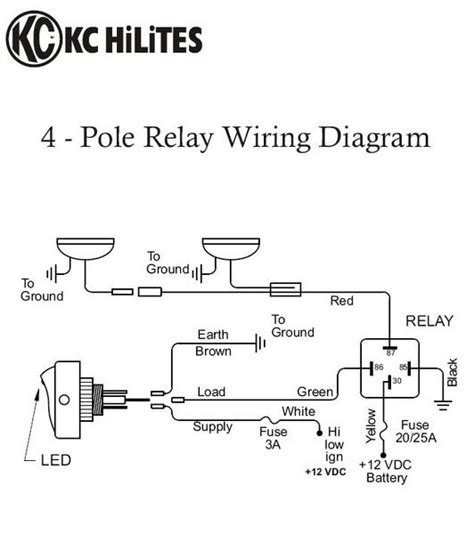 hella road fog lights wiring diagram get free image