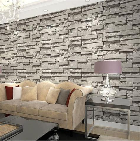 jual wallpaper dinding tembok motif batu bata  artistik
