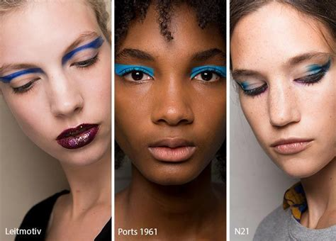 Eyeshadow Trend more summer makeup trends for 2017 from fashion week
