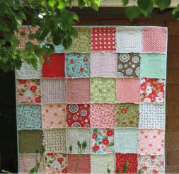 and cuddly rag quilt favequilts