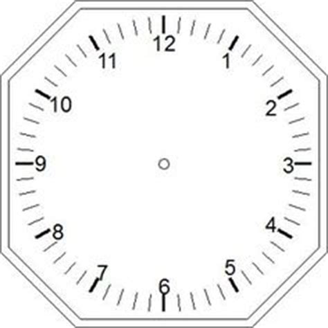 printable a4 clock face printable clock templates blank clockface without hands
