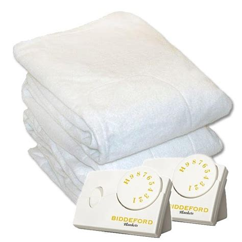 biddeford blankets electric heated mattress pad