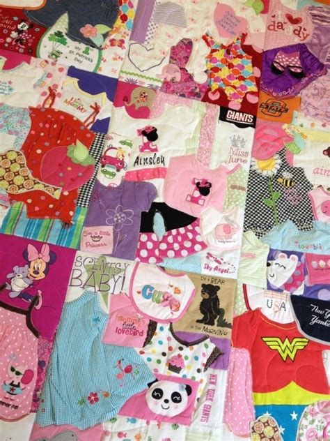 Quilts Made With Baby Clothes by Pin By Nunn On For Babydoll