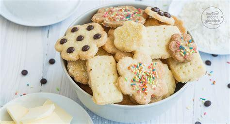 einfache kuchen rezepte mit wenig zutaten schnelle 3 zutaten kekse backen macht gl 252 cklich