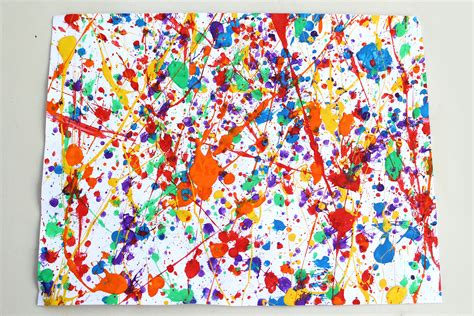 how to splatter acrylic paint on a canvas how to splatter paint 11 steps with pictures wikihow
