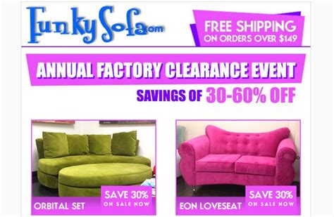 Funky Sofa Clearance by Clearance