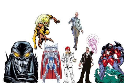 honorable mentions at marvel this week x men 6 thor god of the m6p 187 top 10 x men villains