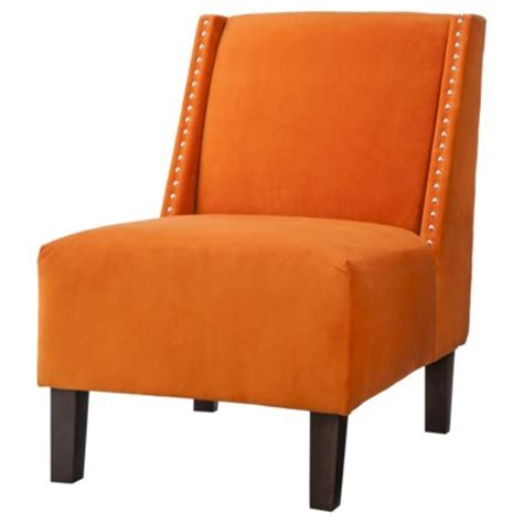orange slipper chair more chairs more rooms lets decorate my country