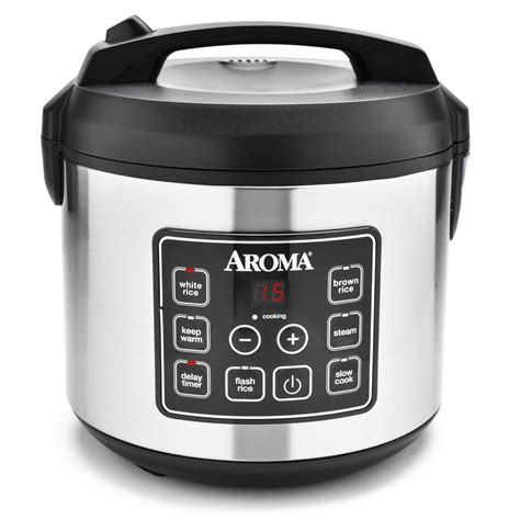 Rice Cooker Digital aroma 20 cup programmable rice cooker cooker and