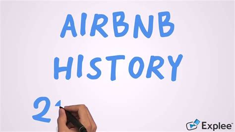 airbnb history airbnb history 2006 2016 youtube
