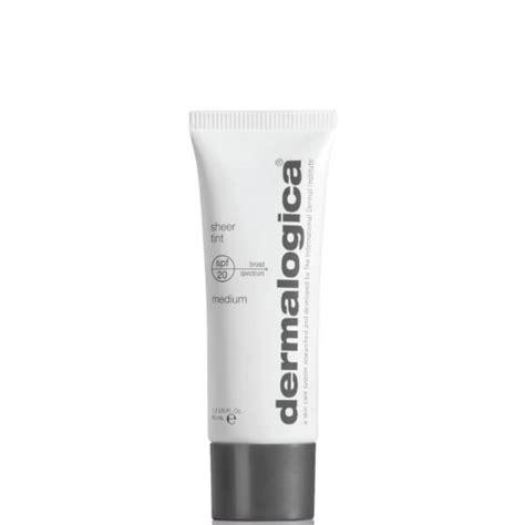 dermalogica sheer tint light dermalogica sheer tint spf20 medium buy online at facialco