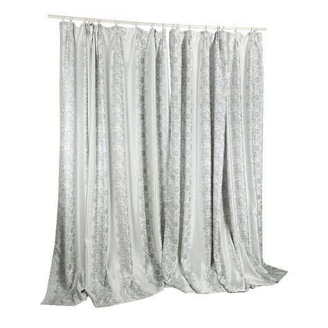 rustic curtain polyester and cotton gray jacquard rustic curtains