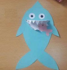 easy shark crafts for 1000 images about shark craft idea on shark