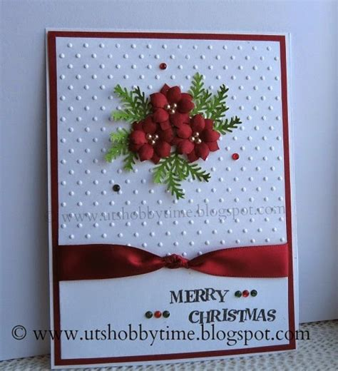 Handmade Greeting Card Tutorials - uts hobby time card and handmade