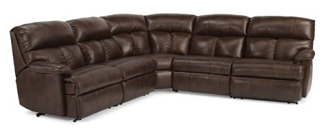 flex steel sectional flexsteel triton reclining sofa sectional olinde s