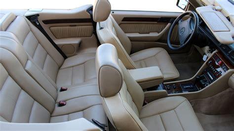 W124 Interior Colors by 1994 Mercedes E320 Cabriolet Lot T31 Monterey