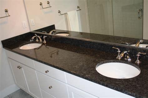 Arabian black steel grey traditional bathroom seattle by creative surfaces llc