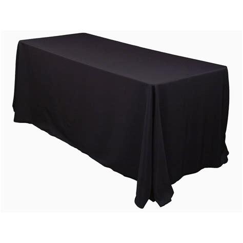 black table cloth 70 quot x 108 quot weddings events black