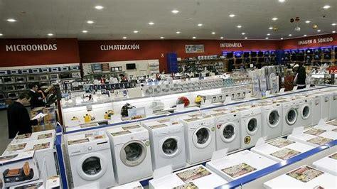 las ventas de electrodomesticos caen   en   ya