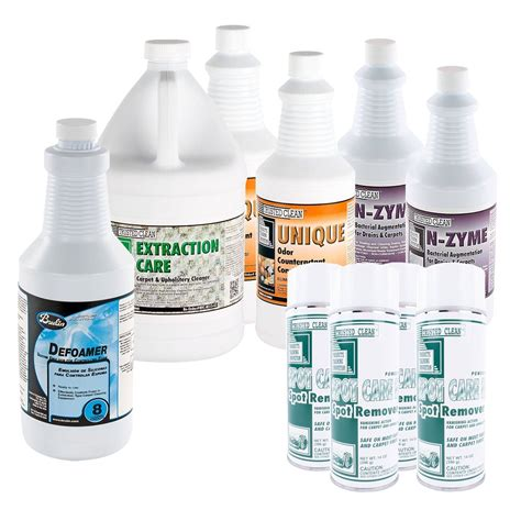 upholstery cleaning chemicals assorted carpet cleaning chemical package spot cleaner
