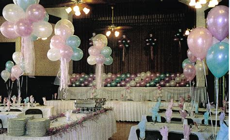 Balloon Decorations For Wedding And Bridal Showers Balloon Centerpieces For Weddings
