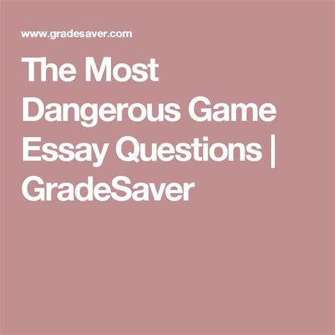 theme essay for the most dangerous game 110 best most dangerous game images on pinterest