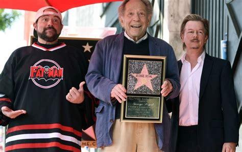 movie actor george segal veteran actor george segal honoured with hollywood walk of