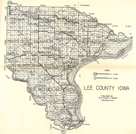 plat maps county iagenweb 1930 plat maps by township