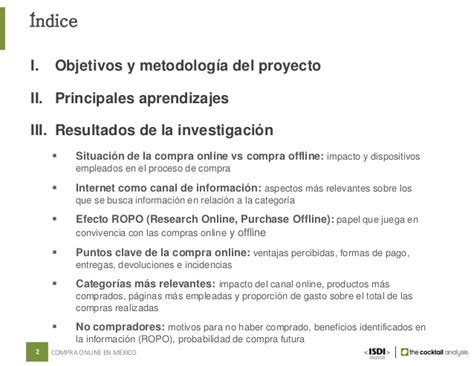 Indice De Compras De La Mba by La Compra En M 233 Xico