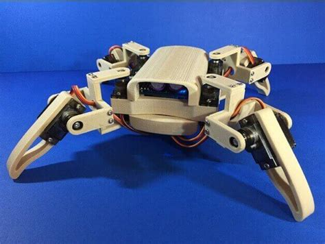 Mur Baut Spider Robot Mg90s 15 fantastic diy robot kits for and their parents all3dp