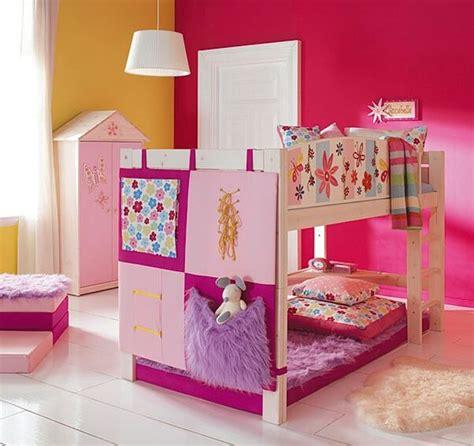 imagenes literas infantiles cuarto de ni 241 a cama doble color rosa camas para ni 241 as
