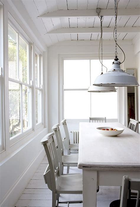 White Dining Room Light Fixtures Cococozy Modern Country Shabby Meets Chic In A White