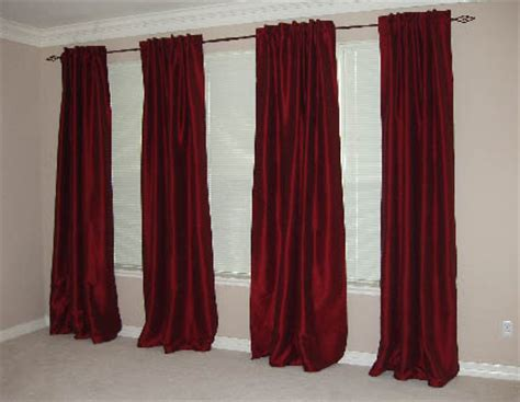 pool table curtains red curtains