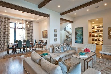 interior beams in houses elegant suburban house with exposed interior wood beams modern house designs