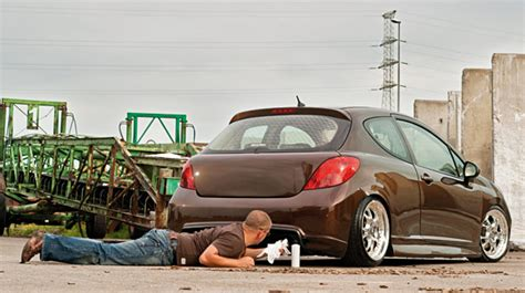 peugeot fast car modified peugeot fast car
