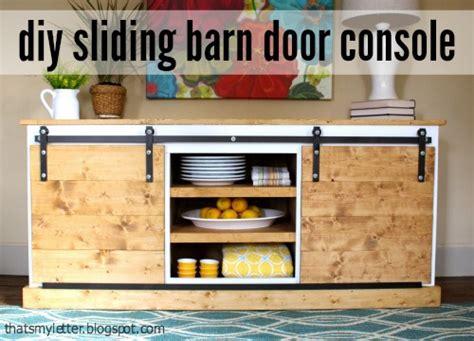diy sliding barn door console hardware tutorial jaime